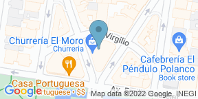 Mapa de Google para Batta Sushi