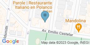 Mapa de Google para Parole Polanco