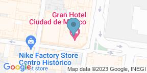 Google Map for La Terraza - Gran Hotel Ciudad de Mexico