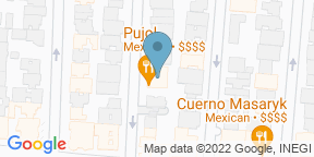 Mapa de Google para Omakase Tacos by Pujol