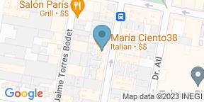 Mapa de Google para Maria Ciento38