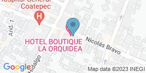 Google Map for Xanath Bistro