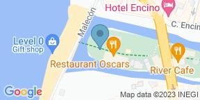 Mapa de Google para Restaurant Oscar's