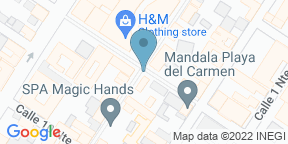 Google Map for Porfirio's - Playa del Carmen