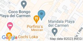 Mapa de Google para C-Grill - Thompson Playa del Carmen