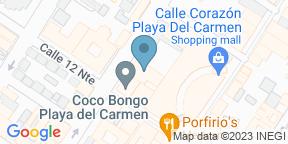 Google Map for Catch - Thompson Playa del Carmen