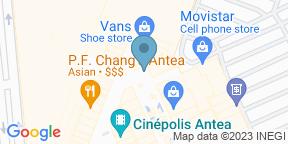 Mapa de Google para Steak Company