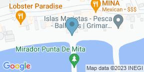 Google Map for Punta Mercedes