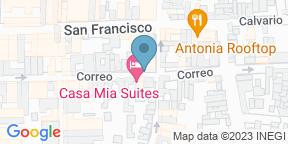 Mapa de Google para Terraza 48