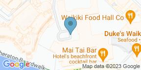 Google Map for Azure - The Royal Hawaiian