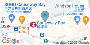 Google Map for Strokes Hong Kong
