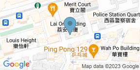 Google Map for Okra Hong Kong
