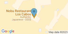Mapa de Google para Nobu Los Cabos