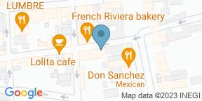 Mapa de Google para Tamarindos Centro