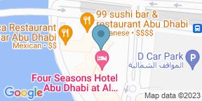 Google Map for Cafe Milano - Four Seasons Abu Dhabi