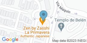 Mapa de Google para Zen By Zasshi La Primavera