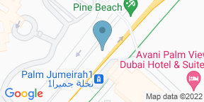 Google Map for Drift - One&Only Royal Mirage