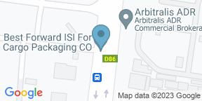 Google Map for Bull & Bear - Waldorf Astoria Dubai DIFC