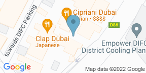 Google Map for Cipriani Dubai DIFC