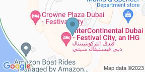 Google Map for Pierre's Bistro & Bar - InterContinental Festival City