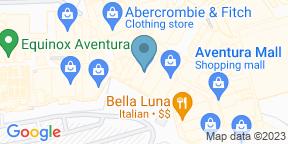 Google Map for Makino Sushi Bar