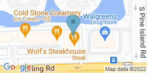 Google Map for Wolfs Steakhouse