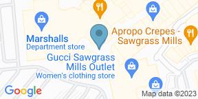 Google Map for Rainforest Cafe - Sawgrass Mills South Florida