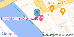 Google Map for River's Edge @ Sheraton Tampa Riverwalk Hotel