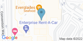 Google Map for Harry's Poolside Bar & Grill at Rosen Centre