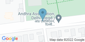 Google Map for Indian Accent