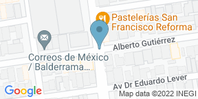 Google Map for Reforma 255