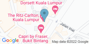 Google Map for The Lobby Lounge