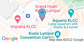 Google Map for THIRTY8 - Grand Hyatt Kuala Lumpur