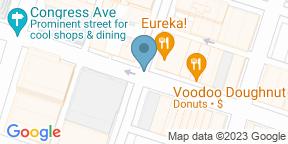 Google Map for Driskill Grill - Driskill Hotel
