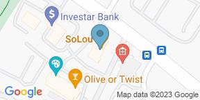 Google Map for SoLou Restaurant