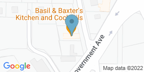Google Map for Basil and Baxter's Kitchen & Cocktails