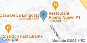 La Casa de la LangostaのGoogle マップ