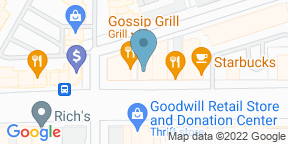 Google Map for Gossip Grill