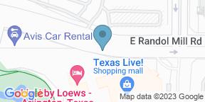 Google Map for Texas Live & Beer Garden
