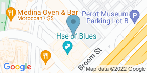 Google Map for Foundation Room House of Blues Dallas