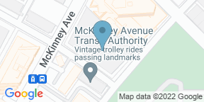Google Map for Blue Sushi Sake Grill - Uptown Dallas