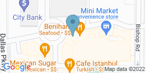 Google Map for Cafe Istanbul - Plano