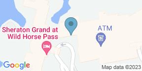 Google Map for Ko'sin | Sheraton Grand at Wild Horse Pass