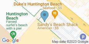 Google Map for Sandy's Beach Shack