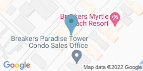 Google Map for Strong Waters Craft Cocktails & Kitchen