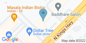 Google Map for 42nd Street Bar & Grill