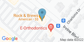 Google Map for Rock and Brews - Tustin