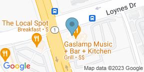 Google Map for Gaslamp - Music + Bar + Kitchen