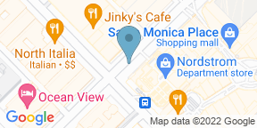Google Map for Bazille - Nordstrom Santa Monica Place