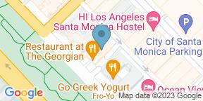 Google Map para The Veranda Restaurant - Georgian Hotel